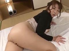 【KAORI】「お義父さんの顔の上でイキたいんです」義父にデカ尻くねらせオナニーを見せつけ誘惑し、シックスナインでイキたいと甘える豊満な嫁
