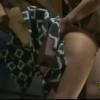 浴衣をはだけて尻を突き出し巨根ピストンで乱れるスレンダー妻