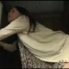 【三十路】田舎の公衆トイレの中で、壁の穴から差し出された生チンポを咥え、尻を突き出しマ◯コに挿入するド変態熟女