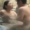 【松うらら】美巨乳、美尻の妖艶三十路妻と露天風呂で濃厚生ハメを満喫する