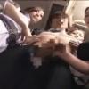 【翔田千里、中森玲子、川上ゆう】三人の極上美熟女がバスに乗り込み、逆痴漢でサラリーマンの肉棒を弄ぶ