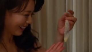 【三浦恵理子】息子がたっぷり出して喜ぶ母親